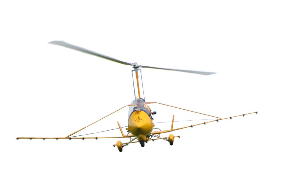油动大载重有人自旋翼植保机