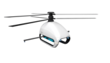 Coaxial Reverse Propeller Unmanned  Helicopter